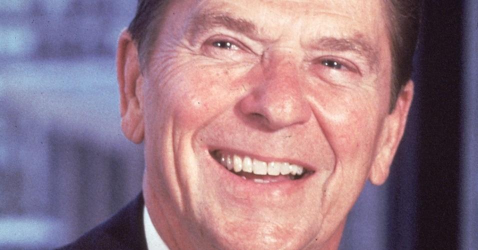 O ex-presidente dos Estados Unidos, Ronald Reagan