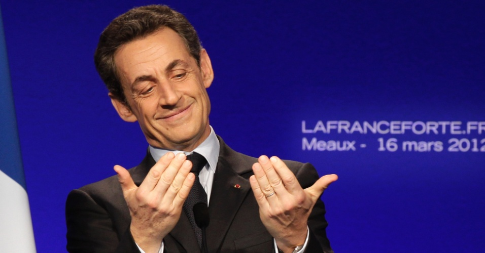 O presidente da França, Nicolás Sarkozy