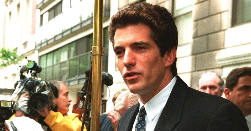 John Kennedy Jr., filho do ex-presidente dos EUA, John F. Kennedy