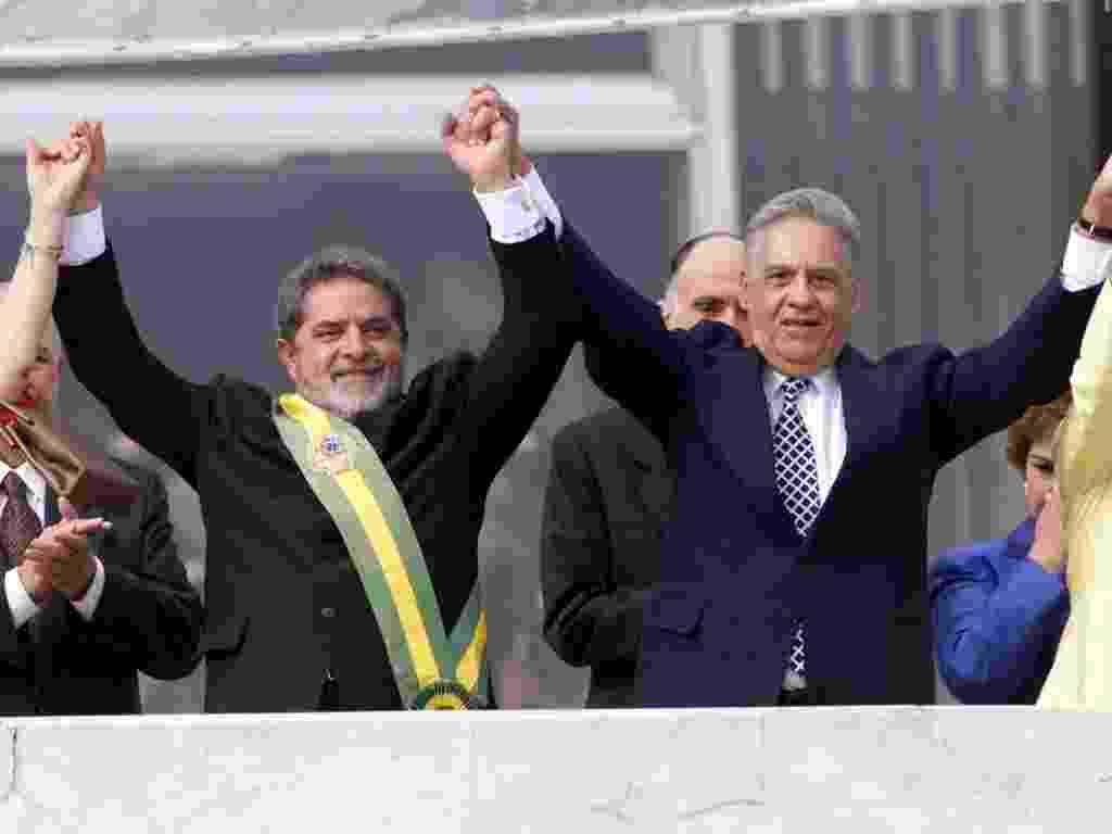 Lula toma posse em Brasília em 2003 - Moacyr Lopes Júnior/Folhapress