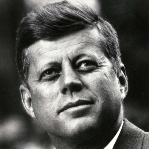 O ex-presidente dos Estados Unidos, John F. Kennedy