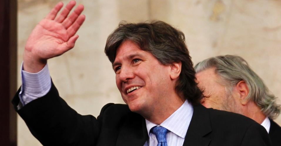O vice-presidente da Argentina, Amado Boudou