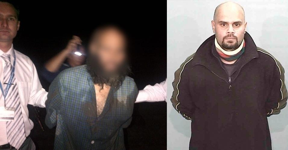 Malcom Naden, o homem mais procurado da Austrália, foi preso nesta quinta-feira (22)