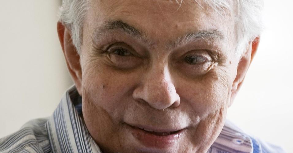 O humorista, ator e escritor Chico Anysio morreu, aos 80 anos, no Rio de Janeiro