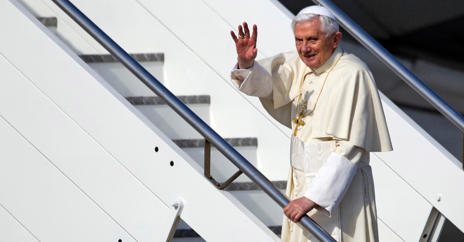 Papa Bento 16 visita México e Cuba