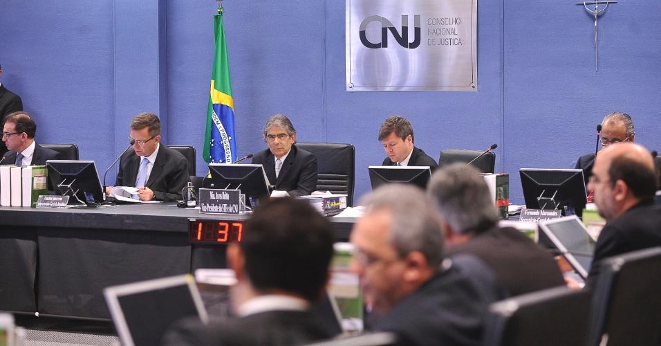 O Conselho Nacional de Justiça (CNJ) promove sua 144ª sessão ordinária