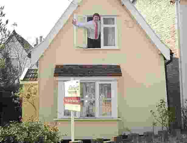 Uma das menores propriedades da Inglaterra vai a leilão por R$ 174 mil - Daily Mail