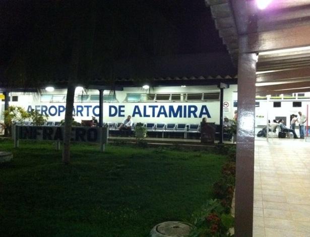 Aeroporto de Altamira, no Pará