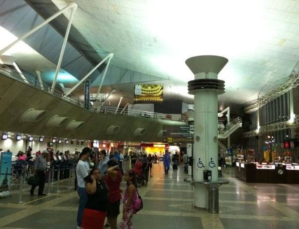 Aeroporto de Belém, no Pará