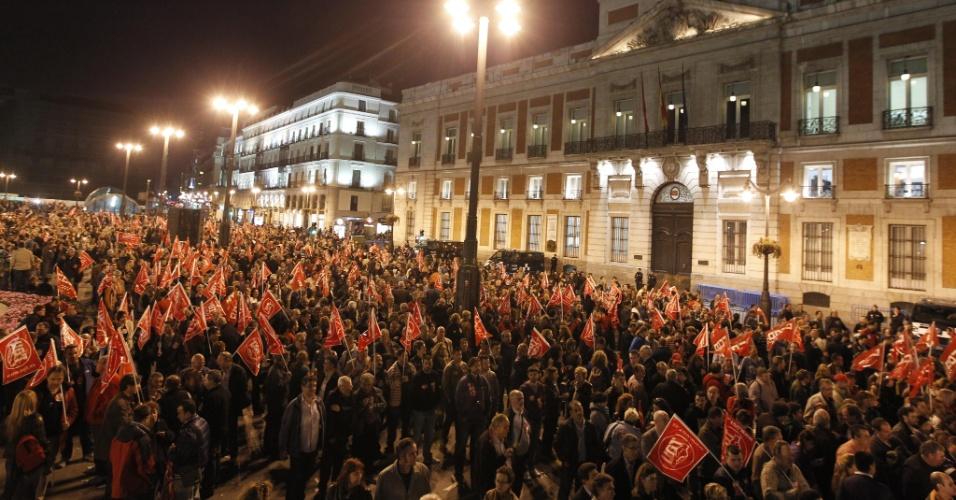 Principais sindicatos da Espanha convocam greve geral