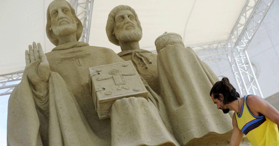 Maior escultura de areia