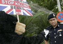 Tengku Bahar/AFP