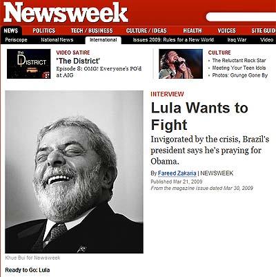 Reprodução/Newsweek