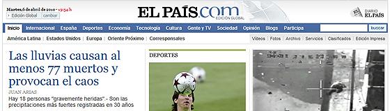 El País/Reprodução