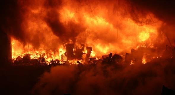 17.jul.2007 - Avião sofre acidente ao pousar no Aeroporto de Congonhas, zona sul de São Paulo