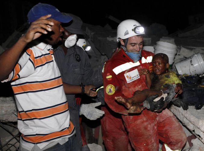 Resgate no Haiti