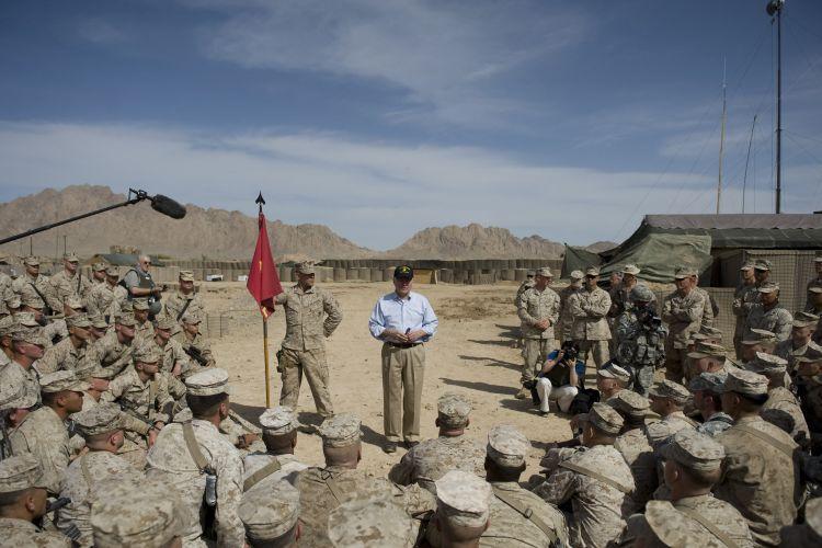 Gates no Afeganistão