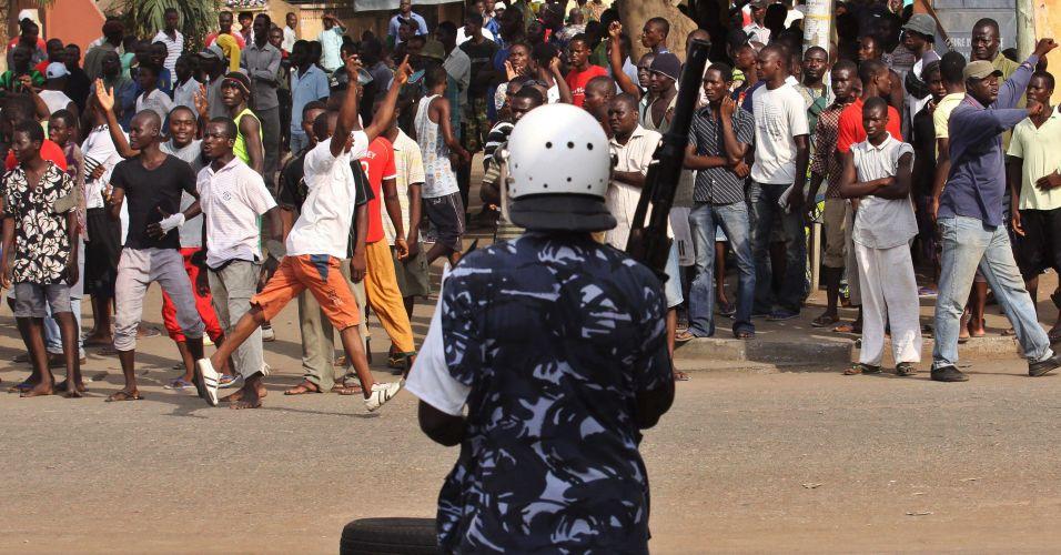 Protestos no Togo