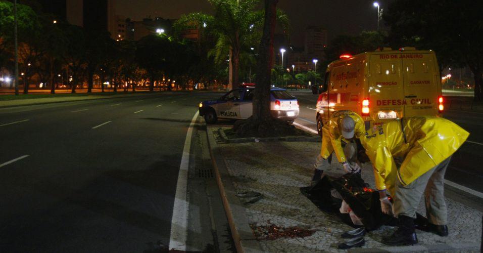 Estudante morre atropelada no Rio