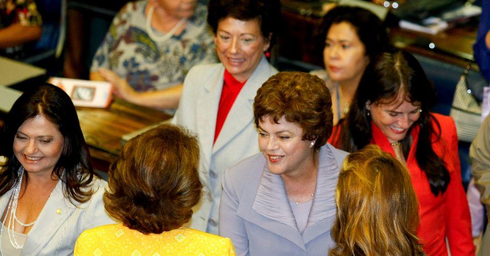 Dilma vai ao Congresso