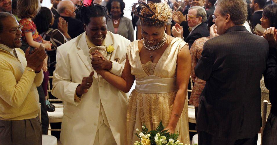 1º casamento gay em Washington