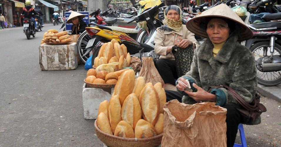 Pães no Vietnã