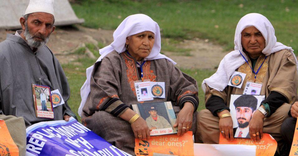 Desaparecidos na Caxemira