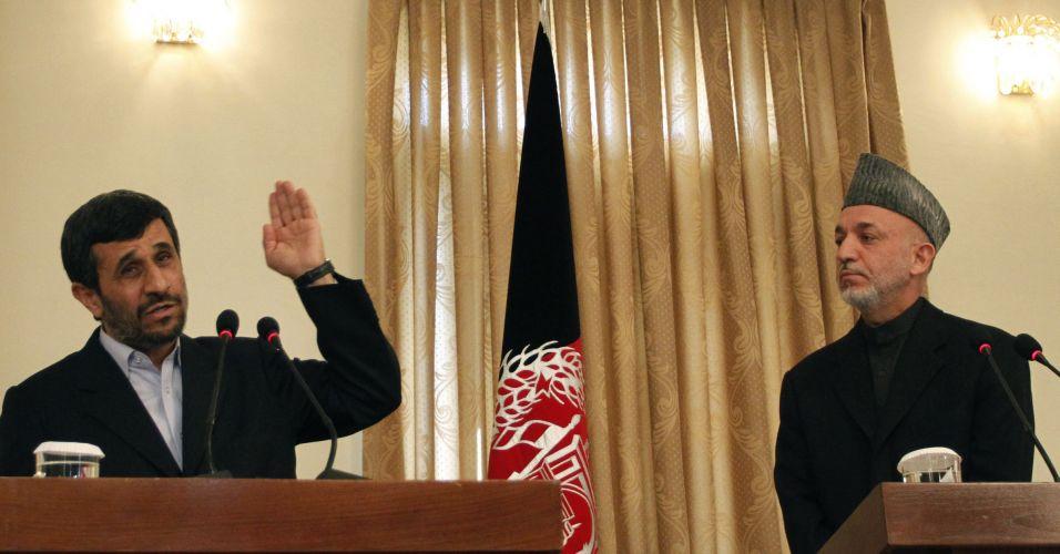 Ahmadinejad no Afeganistão