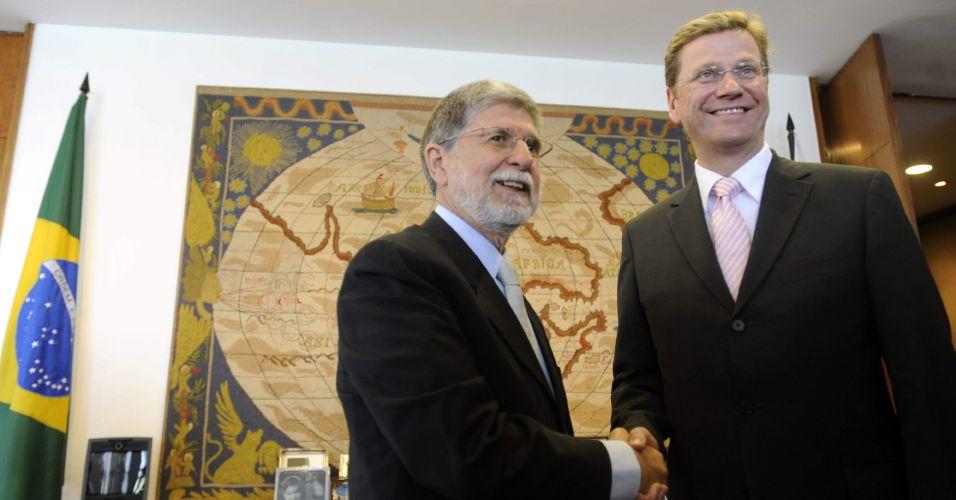 Amorim recebe ministro alemão