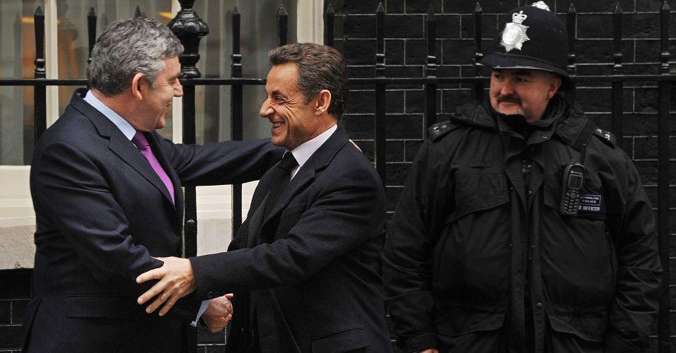 Sarkozy na Inglaterra