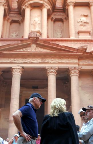 Joe Biden visita Petra