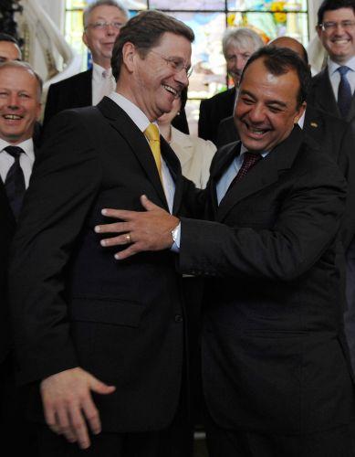 Cabral se reúne com ministro alemão