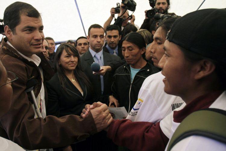 Presidente do Equador visita Chile