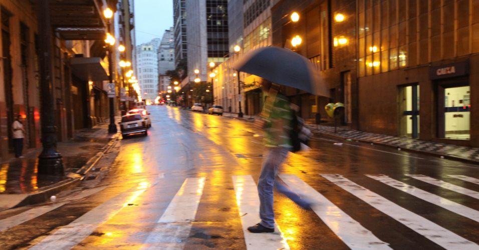 Frio e chuva em SP
