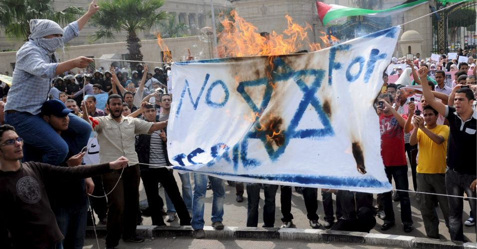 Manifestação no Egito
