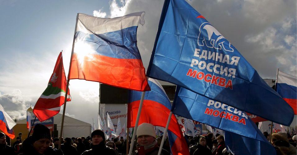Comemoração na Rússia