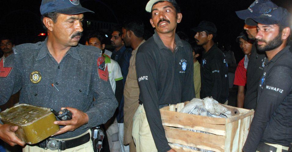 Explosivos no Paquistão