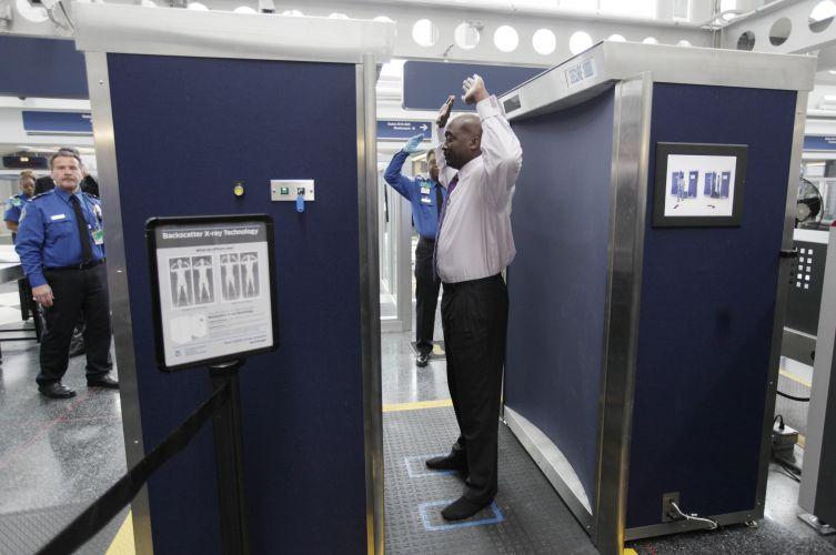 Scanner corporal nos EUA