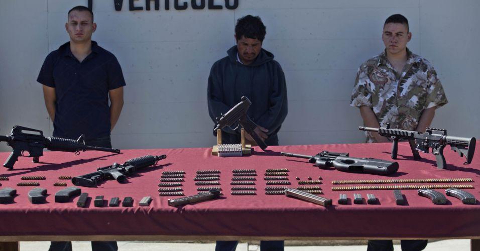 Mafiosos mexicanos presos