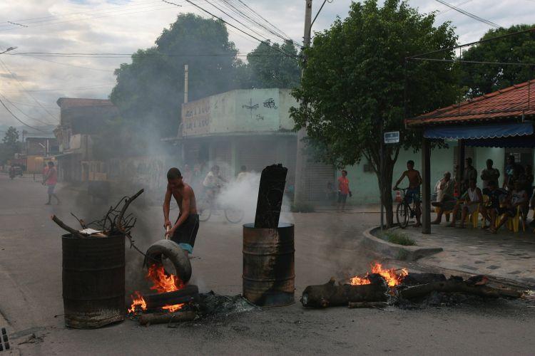 Protesto no RJ