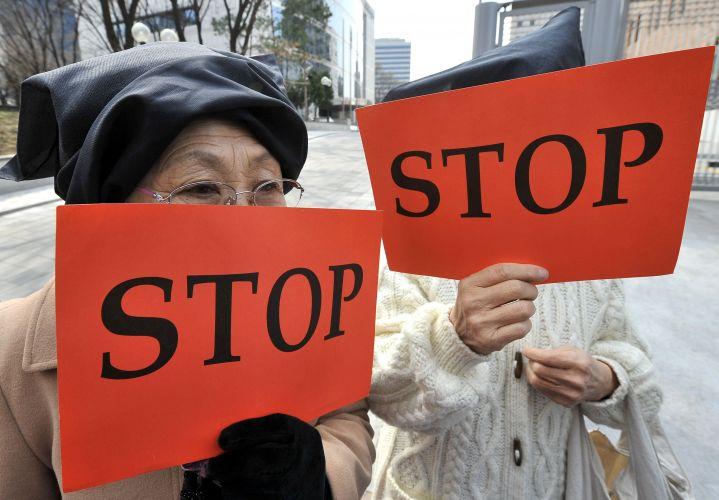 Protesto em Seul