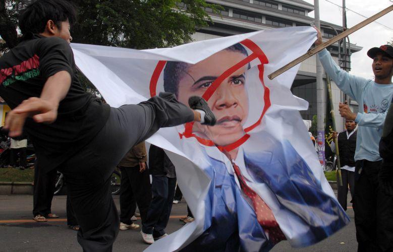 Anti-Obama na Indonésia