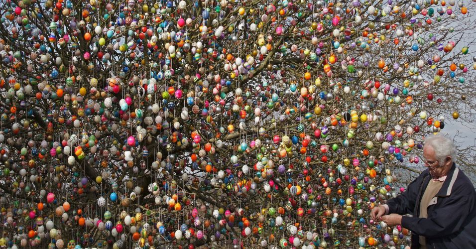 Ovos de Páscoa na Alemanha