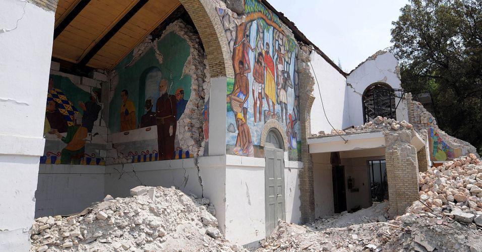 Haiti segue destruído
