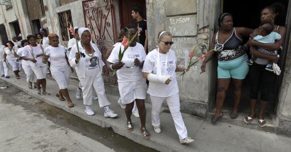 Protesto em Cuba