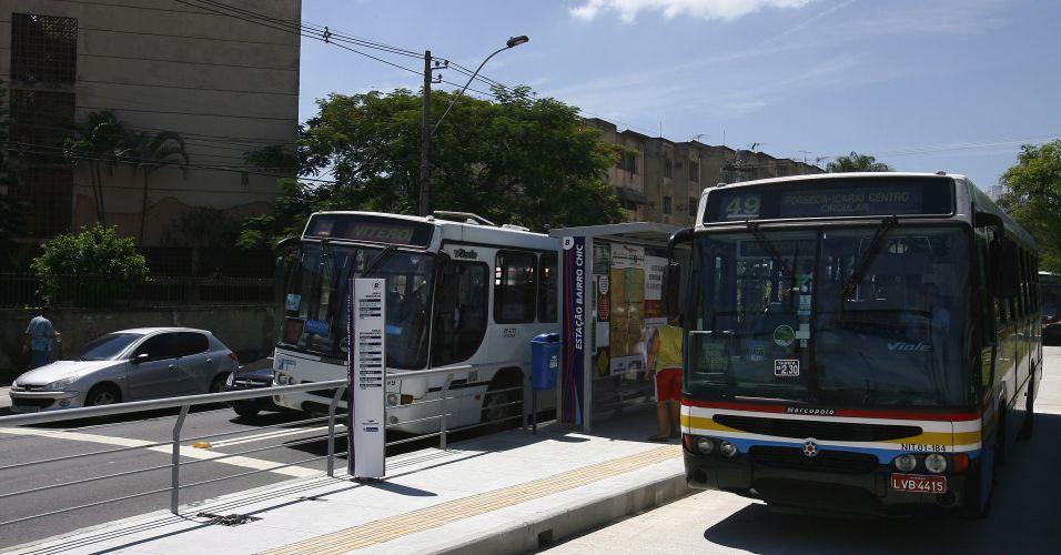 Corredor de ônibus em Niterói