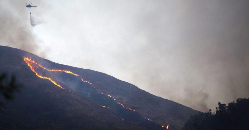 Incêndio em Caracas