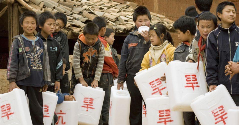 Seca na China