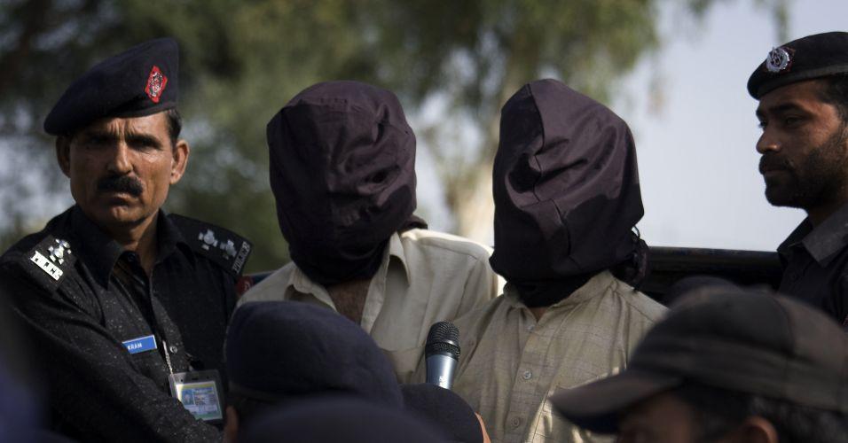 Sequestradores no Paquistão