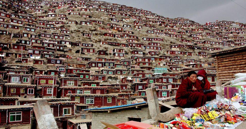 Budistas na China